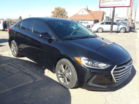 2018 Hyundai Elantra for sale at Sunset Auto Body in Sunset UT