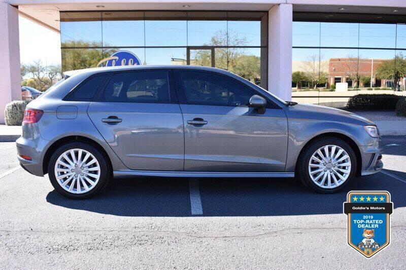 2016 Audi A3 Sportback e-tron for sale at GOLDIES MOTORS in Phoenix AZ