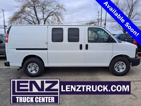 2015 Chevrolet Express Cargo for sale at LENZ TRUCK CENTER in Fond Du Lac WI