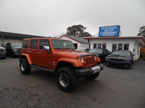 2011 Jeep Wrangler Unlimited for sale at Surfside Auto Company in Norfolk VA