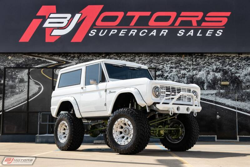 1973 Ford Bronco for sale at BJ Motors in Tomball TX