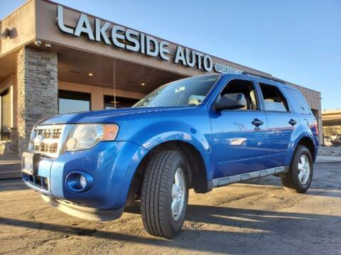 2011 Ford Escape for sale at Lakeside Auto Brokers Inc. in Colorado Springs CO