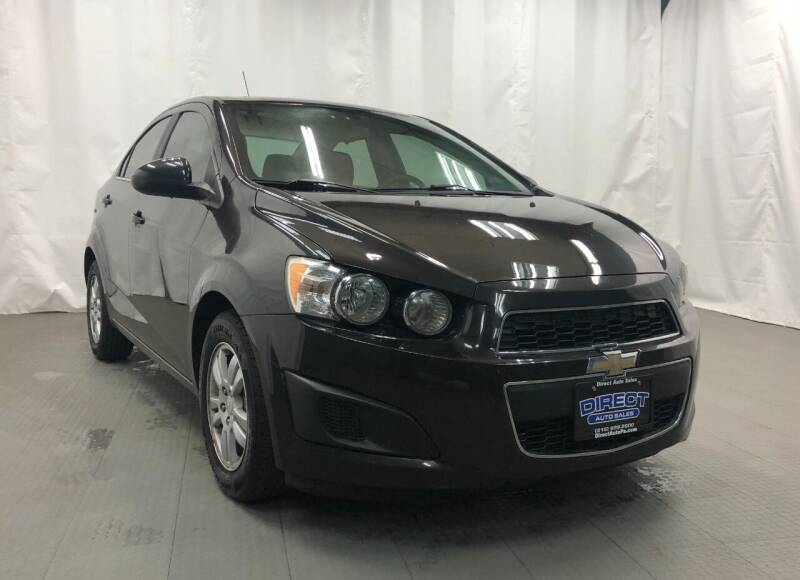 2015 Chevrolet Sonic for sale at Direct Auto Sales in Philadelphia PA
