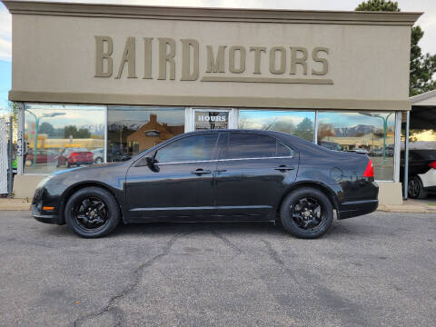 2010 Ford Fusion for sale at BAIRD MOTORS in Clearfield UT