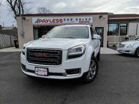 2016 GMC Acadia for sale at PAYLESS CAR SALES of South Amboy in South Amboy NJ