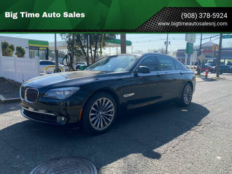 2011 BMW 7 Series for sale at Big Time Auto Sales in Vauxhall NJ