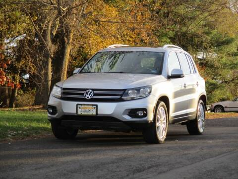 2012 Volkswagen Tiguan for sale at Loudoun Used Cars in Leesburg VA