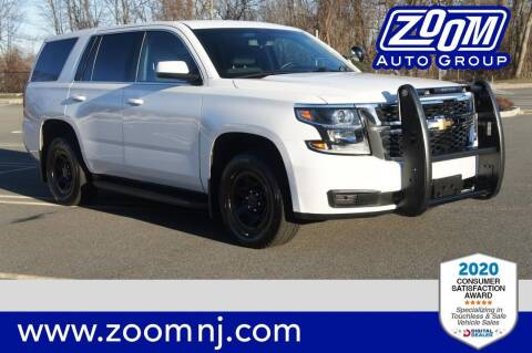 2018 Chevrolet Tahoe for sale at Zoom Auto Group in Parsippany NJ