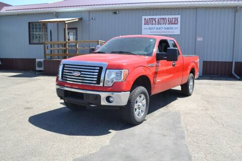 2011 Ford F-150 for sale at Dave's Auto Sales in Winthrop MN