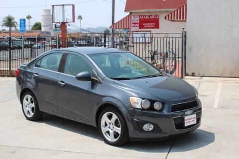 2013 Chevrolet Sonic for sale at Car 1234 inc in El Cajon CA