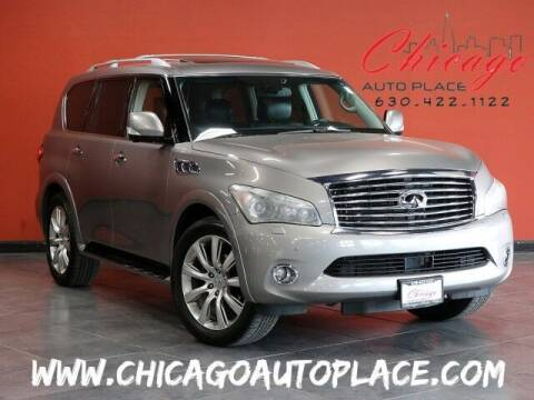 2012 Infiniti QX56 for sale at Chicago Auto Place in Bensenville IL