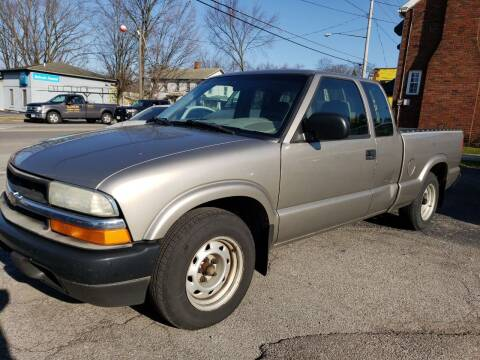 2003 Chevrolet S-10 for sale at COLONIAL AUTO SALES in North Lima OH
