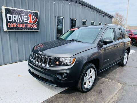 2016 Jeep Compass for sale at Drive 1 Car & Truck in Springfield OH