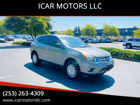 2011 Nissan Rogue for sale at ICAR MOTORS LLC in Federal Way WA