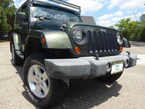 2007 Jeep Wrangler for sale at Columbus Luxury Cars in Columbus OH