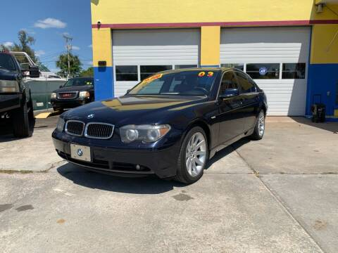 2003 BMW 7 Series for sale at Mid City Motors Auto Sales - Mid City North in N Fort Myers FL