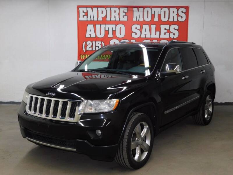 2011 Jeep Grand Cherokee for sale at EMPIRE MOTORS AUTO SALES in Philadelphia PA