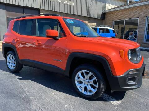 2015 Jeep Renegade for sale at C Pizzano Auto Sales in Wyoming PA