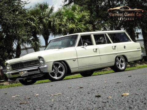 1966 Chevrolet Nova for sale at SURVIVOR CLASSIC CAR SERVICES in Palmetto FL