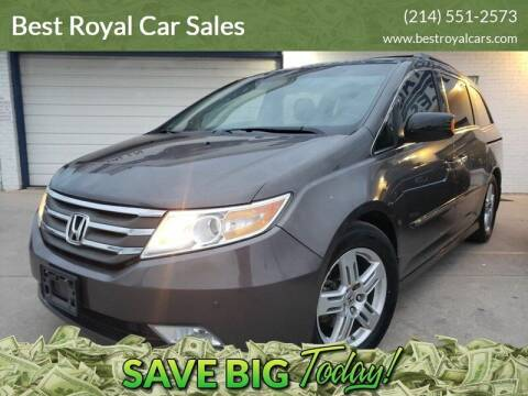 2011 Honda Odyssey for sale at Best Royal Car Sales in Dallas TX