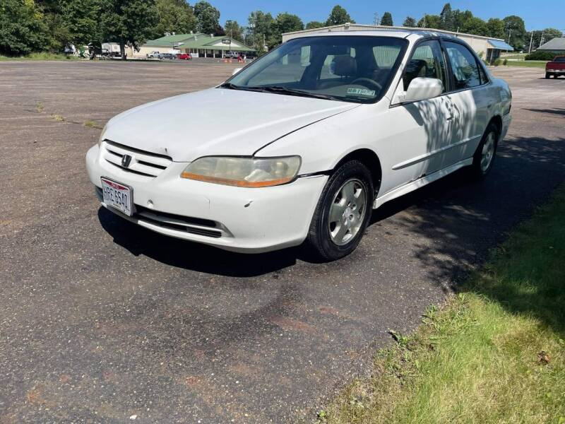 2002 Honda Accord for sale at Main Stream Auto Sales, LLC in Wooster OH