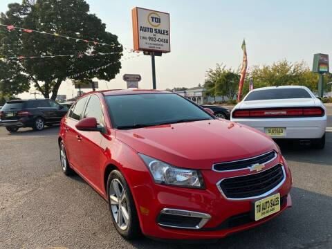 2015 Chevrolet Cruze for sale at TDI AUTO SALES in Boise ID