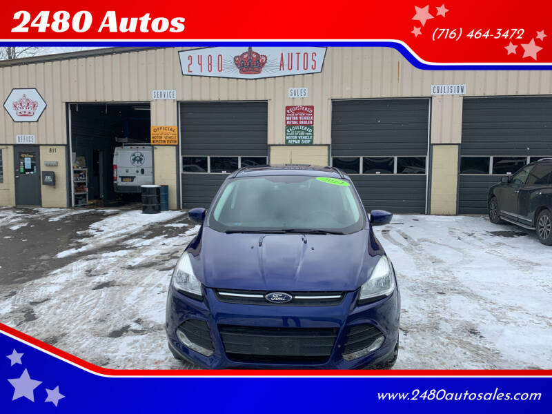 2014 Ford Escape for sale at 2480 Autos in Kenmore NY