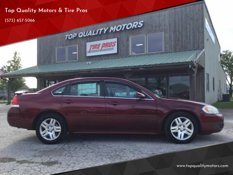 2011 Chevrolet Impala for sale at Top Quality Motors & Tire Pros in Ashland MO
