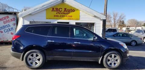 2010 Chevrolet Traverse for sale at ABC AUTO CLINIC - Chubbuck in Chubbuck ID