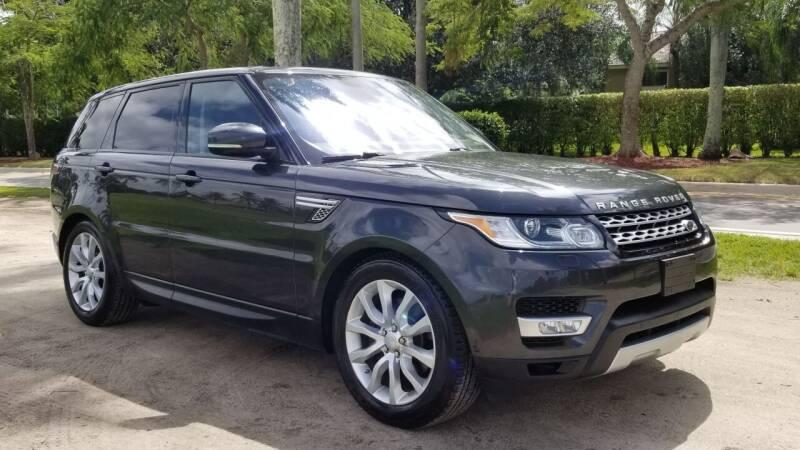 2016 Land Rover Range Rover Sport for sale at Prestige USA Auto Group in Miami FL