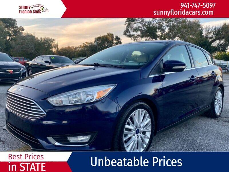 2016 Ford Focus for sale at Sunny Florida Cars in Bradenton FL