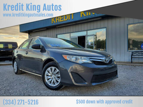 2014 Toyota Camry for sale at Kredit King Autos in Montgomery AL