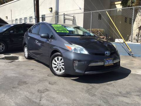2013 Toyota Prius Plug-in Hybrid for sale at LA PLAYITA AUTO SALES INC - 3271 E. Firestone Blvd Lot in South Gate CA