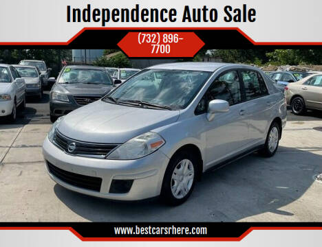 2010 Nissan Versa for sale at Independence Auto Sale in Bordentown NJ