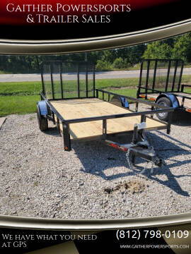 """Heartland 12'x76"""" utility for sale at Gaither Powersports & Trailer Sales in Linton IN"""