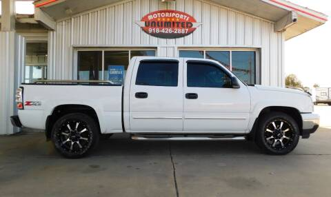 2006 Chevrolet Silverado 1500 for sale at Motorsports Unlimited in McAlester OK