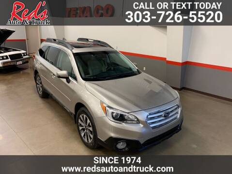 2017 Subaru Outback for sale at Red's Auto and Truck in Longmont CO