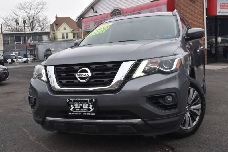 2018 Nissan Pathfinder for sale at Foreign Auto Imports in Irvington NJ