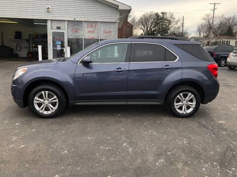 2013 Chevrolet Equinox for sale at J&J Car and Truck Sales in North Canton OH