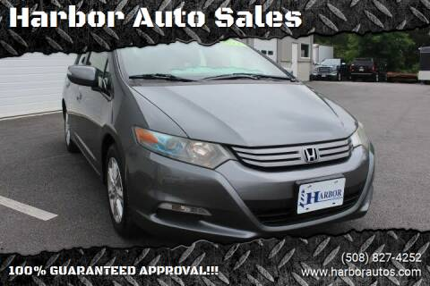 2011 Honda Insight for sale at Harbor Auto Sales in Hyannis MA