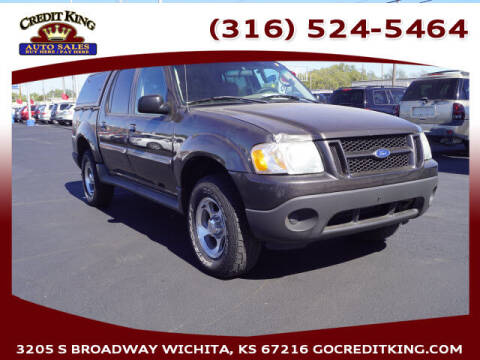 2005 Ford Explorer Sport Trac for sale at Credit King Auto Sales in Wichita KS