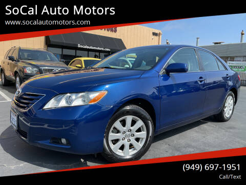 2007 Toyota Camry for sale at SoCal Auto Motors in Costa Mesa CA