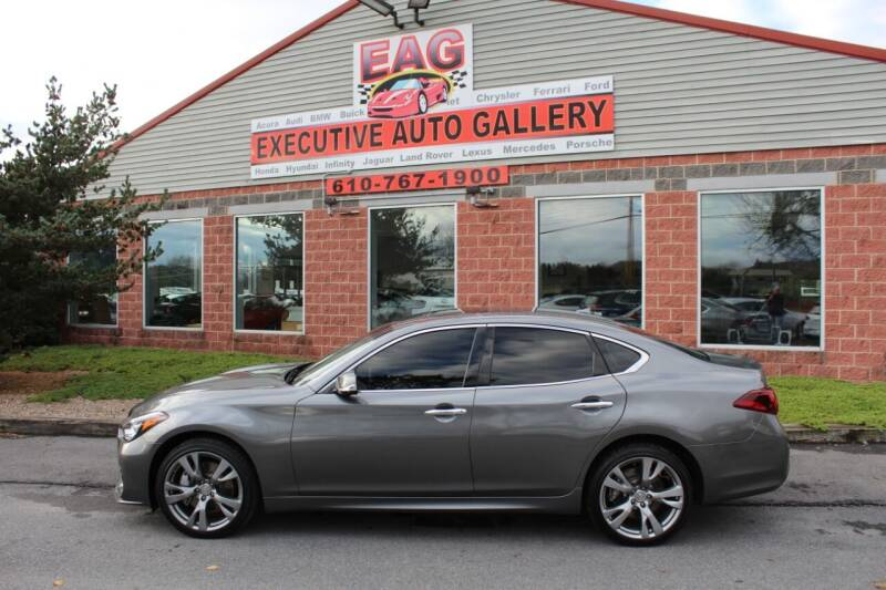 2015 Infiniti Q70 for sale at EXECUTIVE AUTO GALLERY INC in Walnutport PA