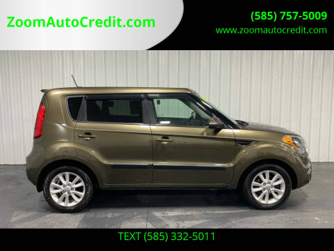 2013 Kia Soul for sale at ZoomAutoCredit.com in Elba NY