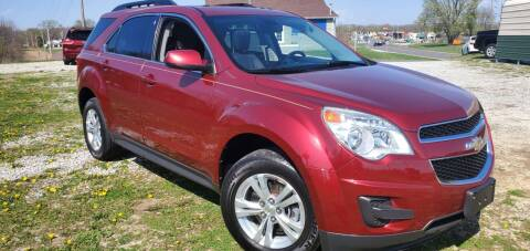 2011 Chevrolet Equinox for sale at Sinclair Auto Inc. in Pendleton IN