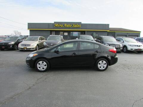 2015 Kia Forte for sale at MIRA AUTO SALES in Cincinnati OH