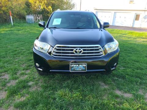 2008 Toyota Highlander for sale at Lewis Blvd Auto Sales in Sioux City IA