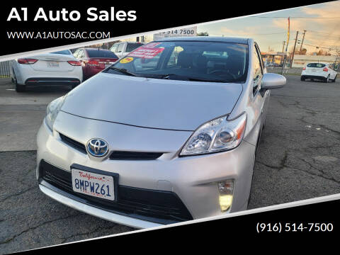 2013 Toyota Prius for sale at A1 Auto Sales in Sacramento CA