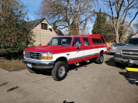 1994 Ford F-350 Super Duty for sale at Classic Car Deals in Cadillac MI