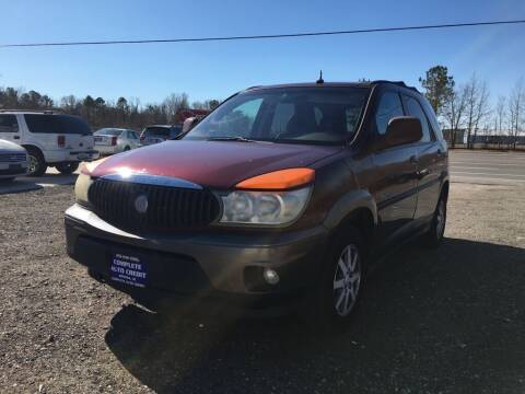 2003 Buick Rendezvous for sale at Complete Auto Credit in Moyock NC